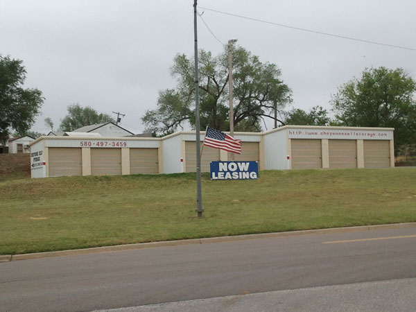 Self storage in Western Oklahoma